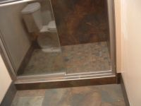 bathroom remodel, schluter strips for tile edging shower