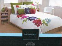 Cynthia Rowley New York Luxury Floral Duvet Cover Set ...