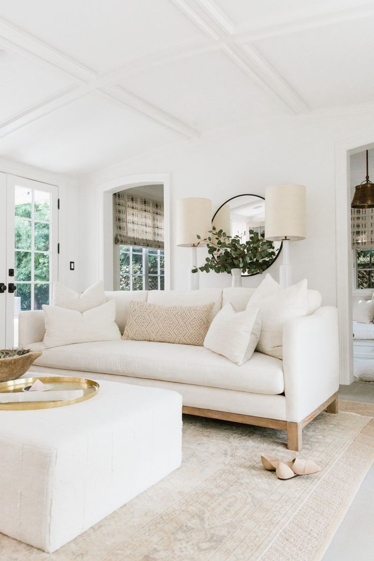 25+ best ideas about White living rooms on Pinterest