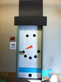 Snowman door | Christmas | Pinterest | The doors, Door ...