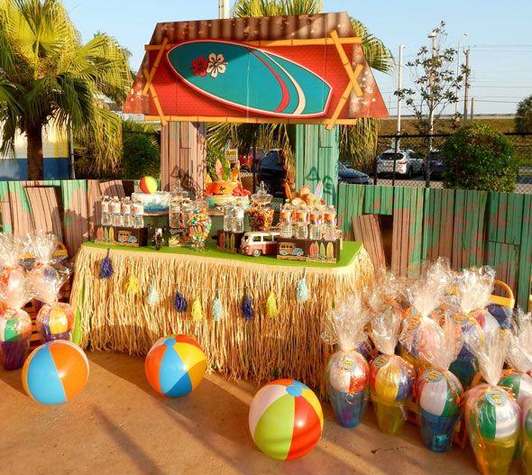 Beach Bash Birthday Party Birthdays Beaches And Movie Party