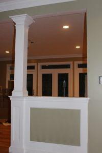 Half+Wall+&+Column   Home Ideas   Pinterest   Drywall ...