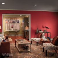 32 best images about Red Rooms on Pinterest | Bold, Accent ...