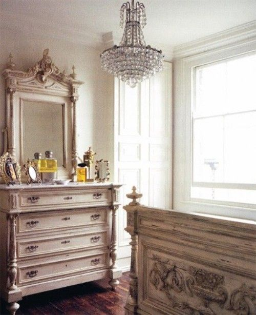 17 Best ideas about French Inspired Bedroom on Pinterest