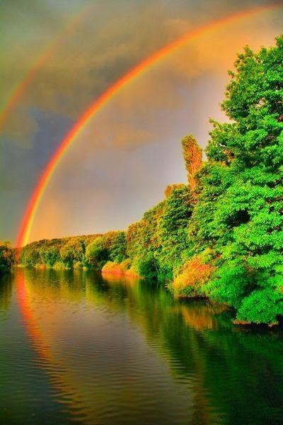 Cheap 3d Wallpaper Rainbows Reflection Beautiful Stuff Pinterest Rainbows