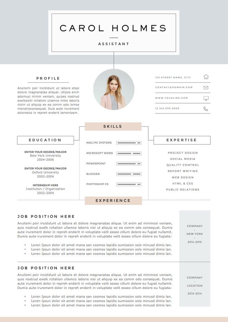 free resume templates mac - Free Resume Templates For Mac