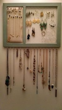 Top 25+ best Diy jewelry organizer ideas on Pinterest ...