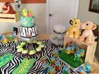 Baby shower , Lion King Decoration | Baby Shower Ideas ...