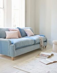 Best 20+ Light Blue Couches ideas on Pinterest | Floral ...
