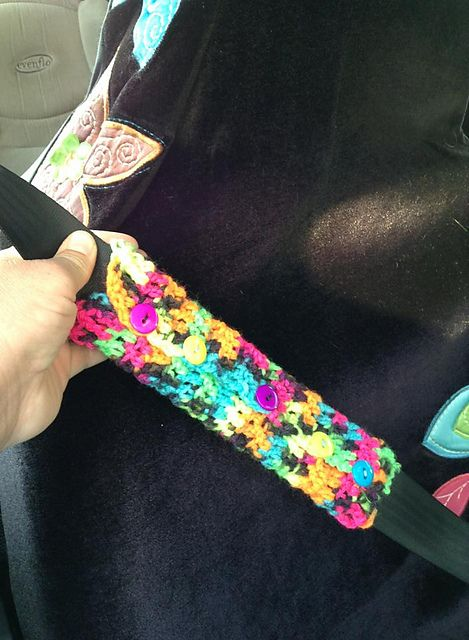 Baby Car Seat Belt Covers 17 Best Images About Crochet Seat Belt Covers On Pinterest