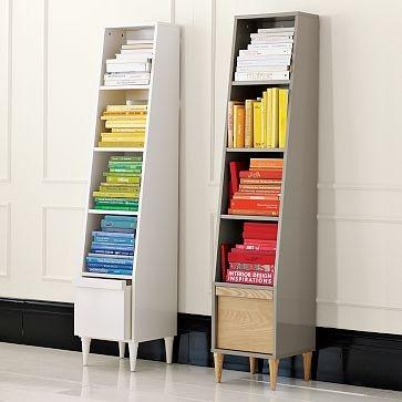 Tall Skinny Bookshelf For The Home Pinterest