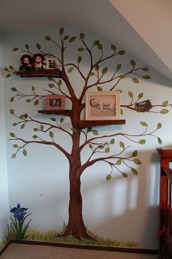 Baby Girl Nursery Removable Wallpaper 25 Best Ideas About Painted Wall Murals On Pinterest