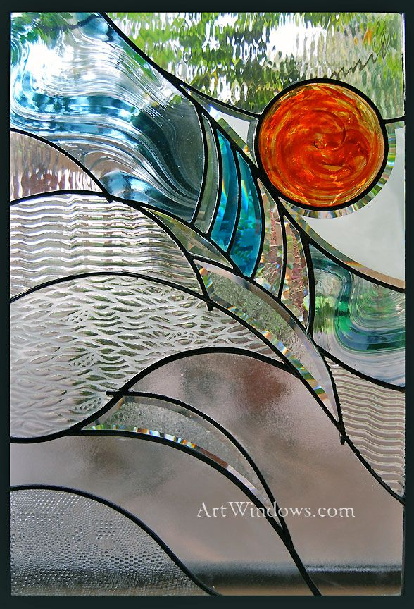 Sideboard Designer Art Windows Custom Stained Glass | Art ~ Glass | Pinterest