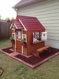 25+ best ideas about Backyard Playhouse on Pinterest ...