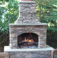 7 best images about patio on Pinterest | Outdoor fireplace ...