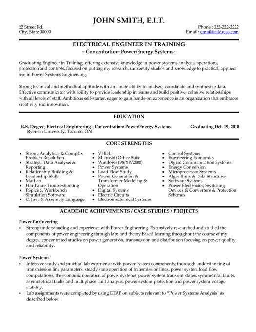 Sample Resume Format For Freshers Free Download In 2017 10 Best Best Electrical Engineer Resume Templates