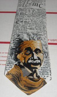 Albert Einstein E=mc2 Neck Tie Physicist Genius Science ...