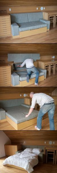 17 Best ideas about Hide A Bed on Pinterest | Murphy bed ...