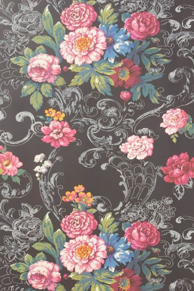 venetian bouquet wallpaper by york wallcoverings / @Anthropologie . | illustrations & patterns ...