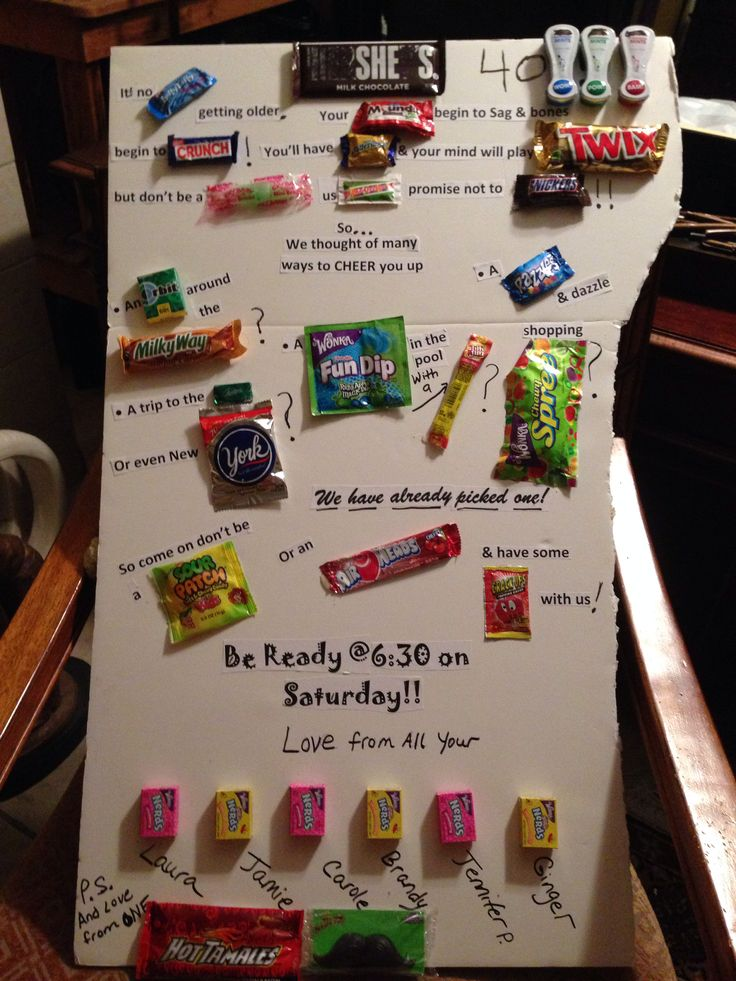 Wallpaper Hd Cute For Men Candy Bar Sayings Friends 40th Birthday Crafts