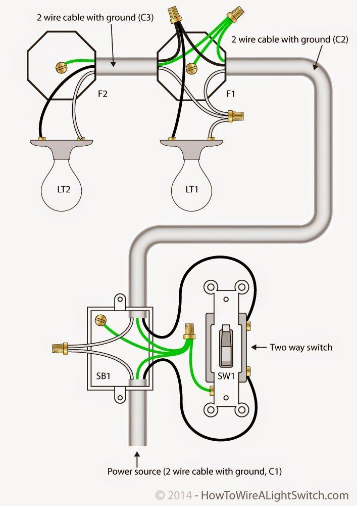diy electrical lighting wiring