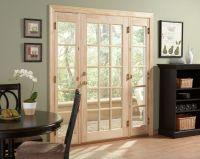 Ashworth(R) Patio Door with Venting Sidelites by Woodgrain ...