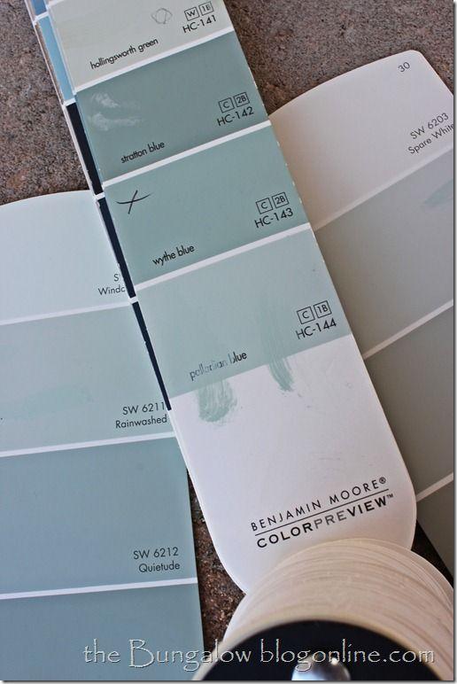 Project board and batten paint colors palladian blue