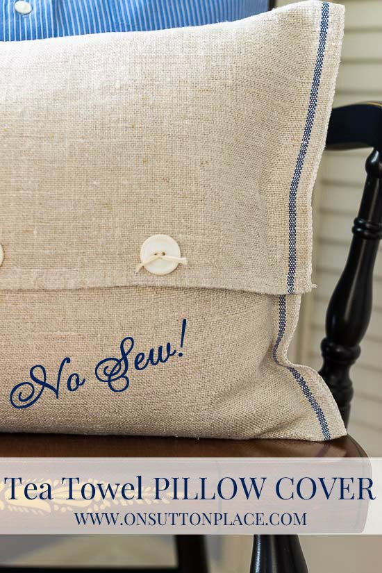 1000+ Ideas About No Sew Pillow Covers On Pinterest | Pillow