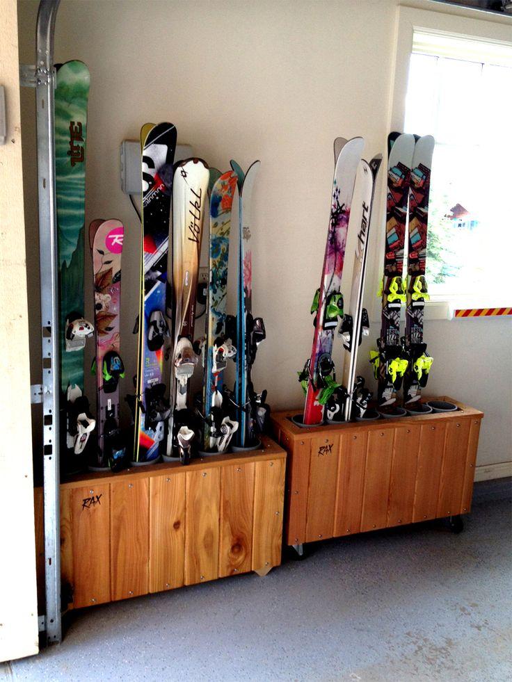 25 Best Ideas About Ski Rack On Pinterest