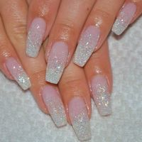 115 best images about Clear & White Nail Designs on ...