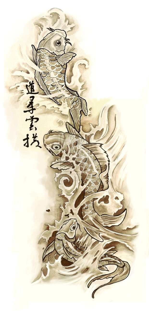 Koi fish tattoo designs koi pinterest koi fish