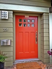 17+ best ideas about Orange Front Doors on Pinterest ...