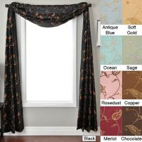 scarf window treatments | Roselawnlutheran