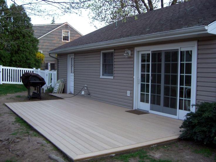 trex deck over cement?