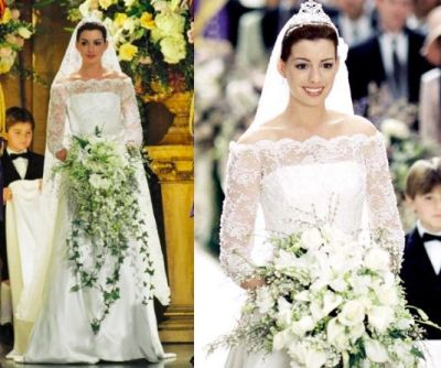 Anne Hathaway Princess Diaries Wedding Dress; this is ...