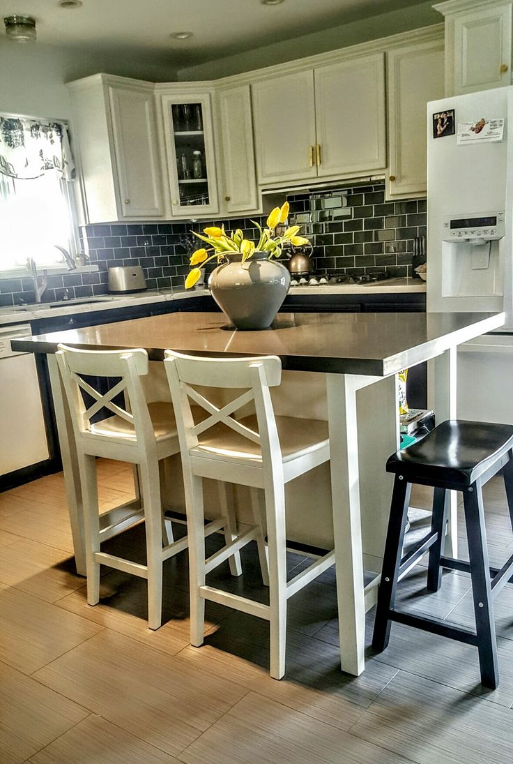 Kitchen Island Chairs Stools 25+ Best Ideas About Kitchen Island With Stools On