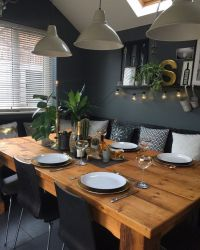 Best 25+ Dark Dining Rooms ideas on Pinterest | Dining ...