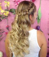 17 Best ideas about Curly Braided Hairstyles on Pinterest ...