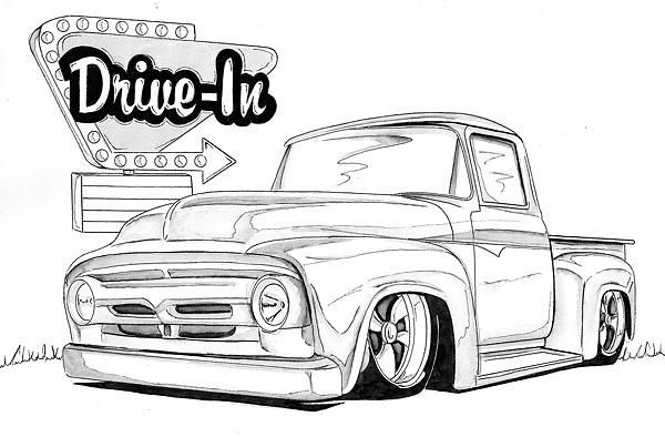 1955 ford f100 chip foose truck