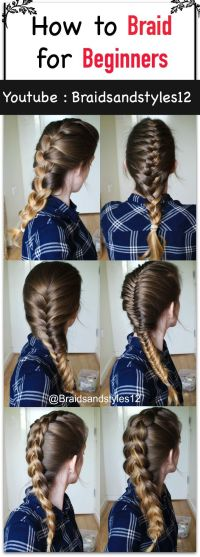 25+ best ideas about Braiding your own hair on Pinterest ...