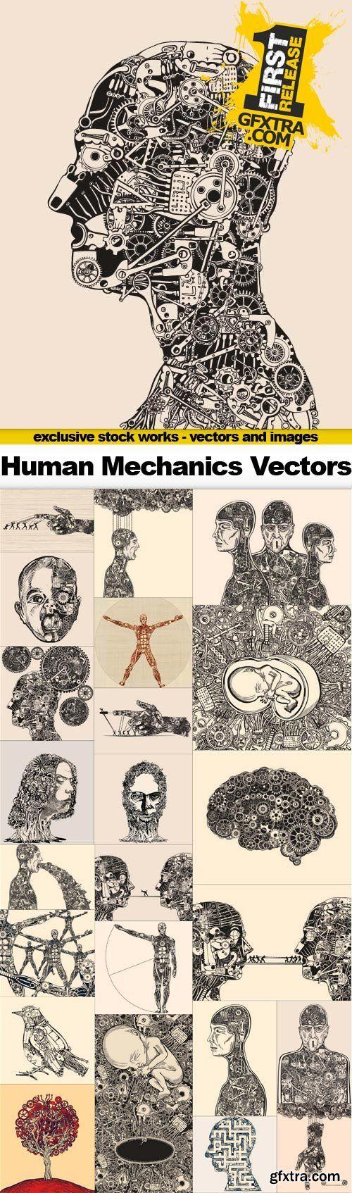 T shirt design 7 25xeps - T Shirt Design 7 25xeps Human Mechanics 25x Eps Download