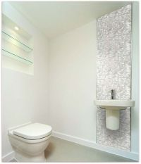 White Brick Groutless Pearl Shell Tile | Mosaic tiles ...