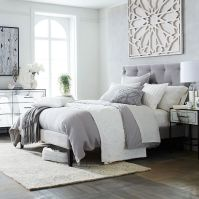 1000+ ideas about White Grey Bedrooms on Pinterest | White ...