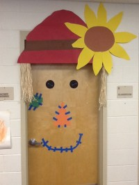 My office door. Halloween door decorations.   Holiday ...
