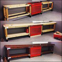 10+ best ideas about Garage Workbench on Pinterest ...
