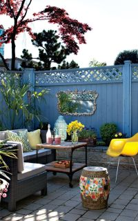 25+ best ideas about Small outdoor patios on Pinterest ...
