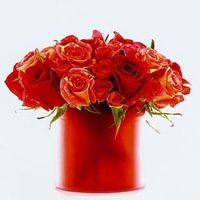 17 Best ideas about Red Flower Arrangements on Pinterest