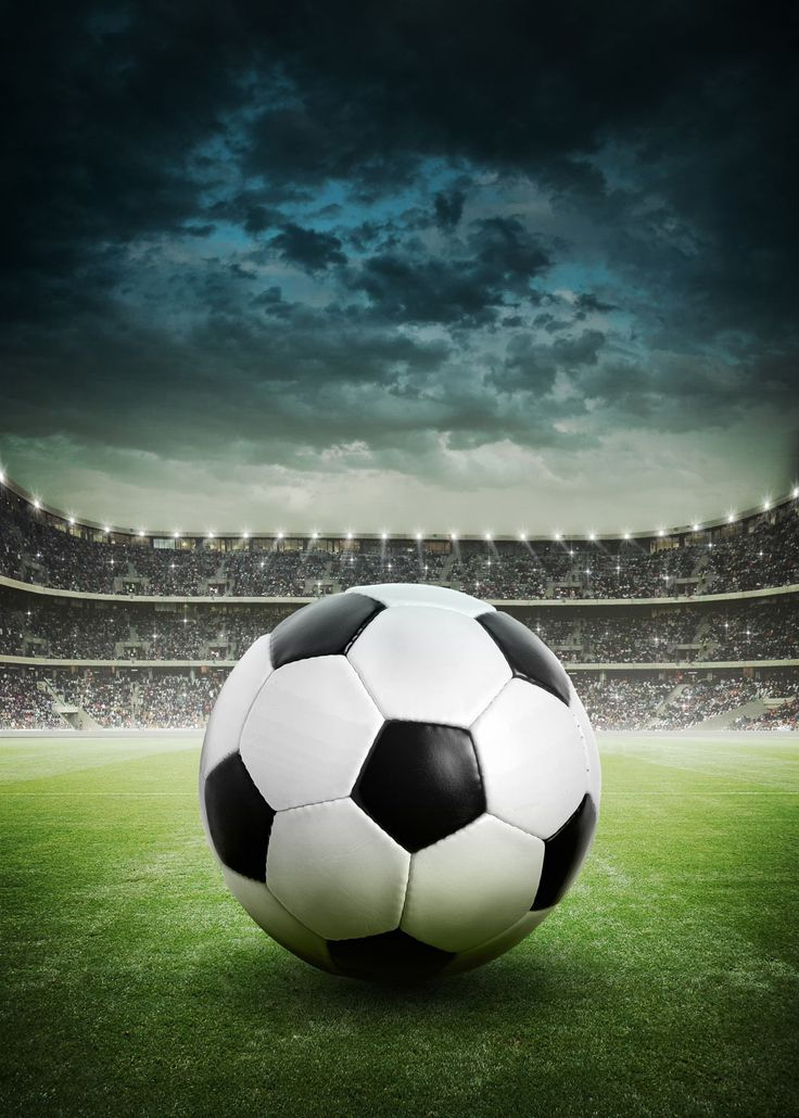 Soccer Iphone X Wallpaper Stormy Soccer Stadium Wall Mural Sports Soccer A Lone