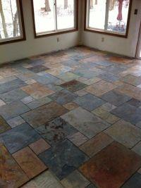 25+ best ideas about Slate flooring on Pinterest | Slate ...