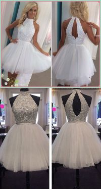 1000+ ideas about Short White Dresses on Pinterest | 8th ...
